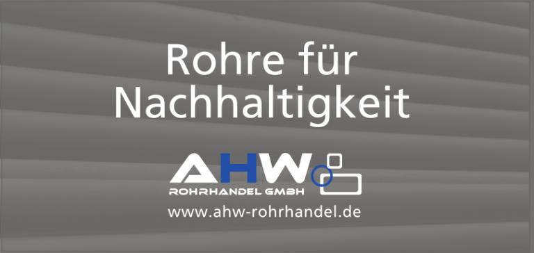 AGI Rohre Beschichtung für Kälteleitungen Stahlrohre AHW Rohrhandel GmbH Moderne Distribution von Stahl