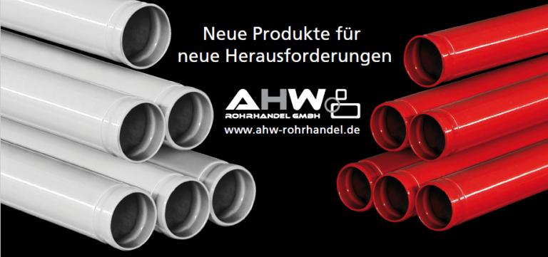 Stahlrohre AHW Rohrhandel GmbH Moderne Distribution von Stahl