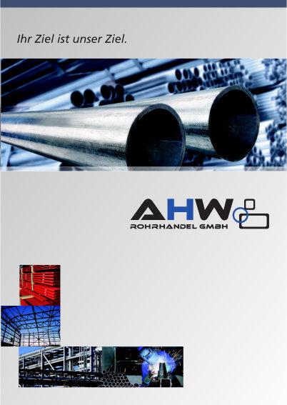 Unternehmensbroschüre AHW Rohrhandel GmbH