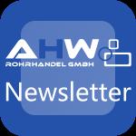 Logo AHW Newsletter AHW Rohrhandel GmbH Stahlrohrhandel Moderne Distribution von Stahl